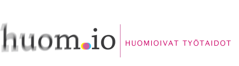 huom.io - logo